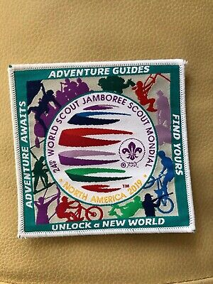 24th WORLD SCOUT JAMBOREE, USA 2019,  FIND YOUR ADVENTURE PATCH