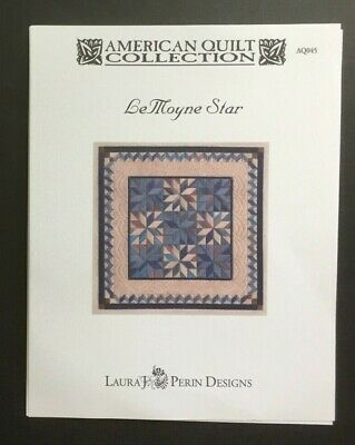 Laura J. Perin American Quilt Collection Charted Needlepoint/LeMoyne Star