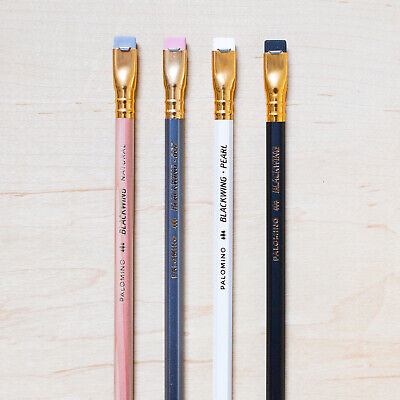 4 Palomino Blackwing Pencil Set: Natural, 602, Pearl, Black, Graphite Extra Firm