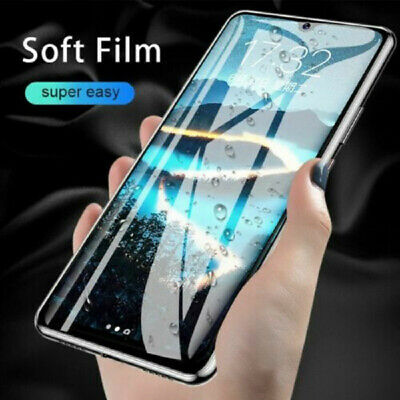 HD Screen Protector For Huawei P30 Pro P20 Mate 20 Lite Clear Soft Hydrogel Film