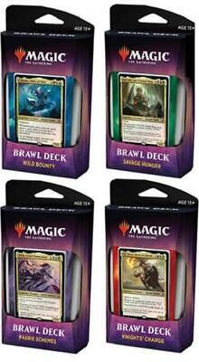 MTG Magic Throne of Eldraine Brawl All 4 Decks Factory Sealed LIMITED REPRINT
