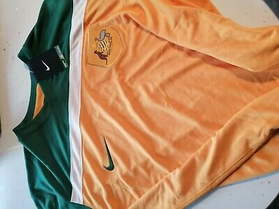 NIKE AUSTRALIA NATIONAL  HOME FOOTBALL SHIRT JERSEY size XXL new with labels