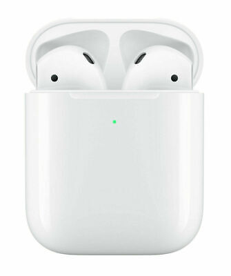 Apple AirPods 2 2nd Generation with Wireless Charging Case - White - MRXJ2AM/A
