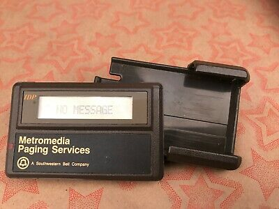 Vintage Bell Metromedia Radio Pager Beeper NEC Free Shipping!