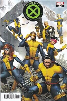 Powers Of X #4 Nmint+ 9.6 Molina Connecting Variant 1St Print X-Men 2019 Marvel