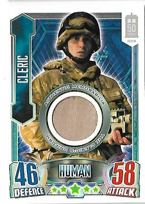 Dr Who Alien Attax 50th Anniversary Edition Costume Cleric's Uniform [# to 2700]