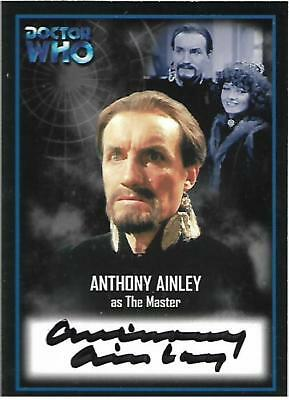 Doctor Who - Series Two Autograph Card AU13 Anthony Ainley - The Master CASE