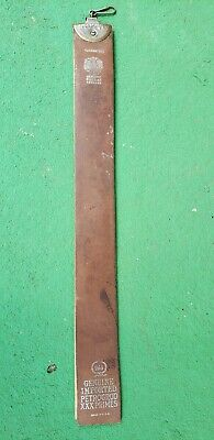 Antique Vintage Russian Leather Petrogrod Barber Razor Sharpener Shaving Strop