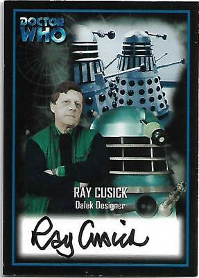 Doctor Who - Series Two Autograph Card AU11 Ray Cusick - Dalek Designer