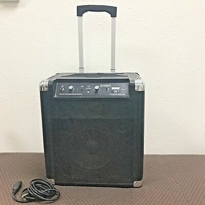 Ion Block Rocker Portable Speaker System With Bluetooth IPA56