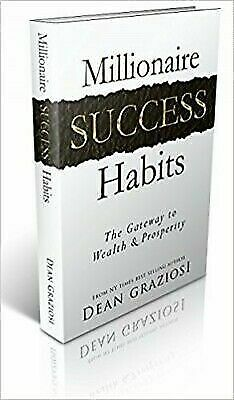 Millionaire Success Habits by Dean Graziosi 2016 - Hardcover