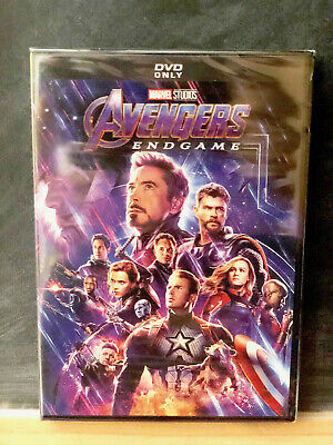 Avengers Endgame DVD Brand NEW / SEALED +FREE SHIPPING Marvel Studio