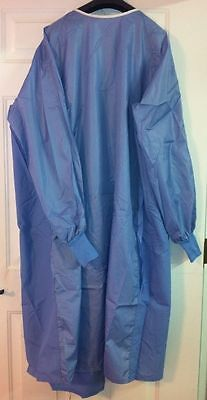 10 ANGELICA ASEP Reusable Surgical Operating Gown XL Knitted Cuff 100% Polyester