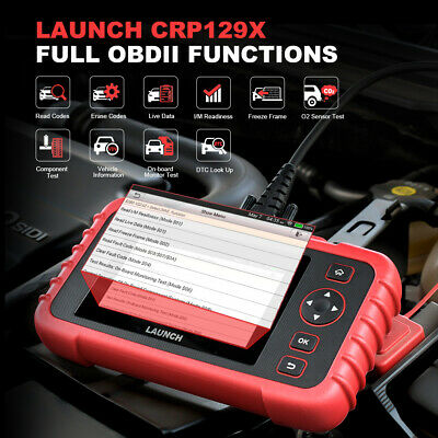 LAUNCH X431 CRP129X OBD2 Scanner Auto Code Reader OBDII Diagnostic Tool ENG