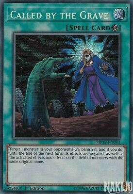 Called By The Grave - MP19-EN043 Prismatic Secret Rare 1st Edition NM