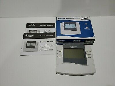 Aprilaire Non Programmable Electronic Thermostat model 8444