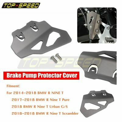 Stainless Steel Brake Pump Cover Guard Protector for BMW R Nine T NineT 2016-18