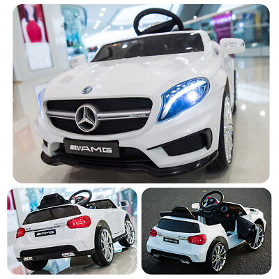 6V Electric Kids Ride On Toy Car Mercedes Benz RC Remote Control w/LED Lights