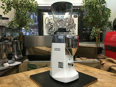 Mazzer Robur S Electronic White Brand New Espresso Coffee Grinder Commercial Bar