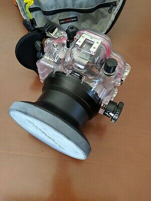 Olympus Underwater Camera Housing - good condition, free backpack