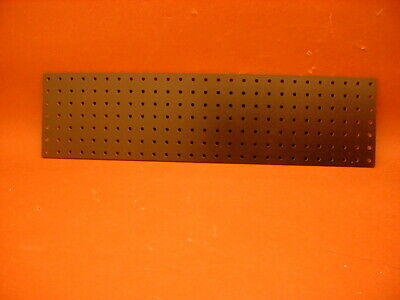 DIY DRILLED TURRET BOARD PANEL * 257 x 67 mm * Tube Amplifier / Other Projects *
