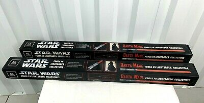 Star Wars: Master Replica DARTH MAUL Force FX Lightsaber X 2