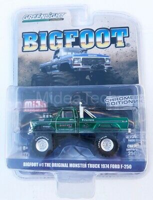 Greenlight 1/64 Bigfoot #1 Original Monster Truck 1974 Ford F-250 51281 Chase
