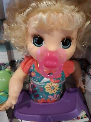 Baby Alive Happy Hungry Baby Blonde 50 Plus Sounds Eats And Poops