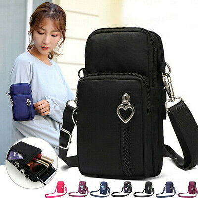 Women Shoulder Strap Wallet Pouch Purse Cross-Body Cell Mobile Phone Bag UK Hot