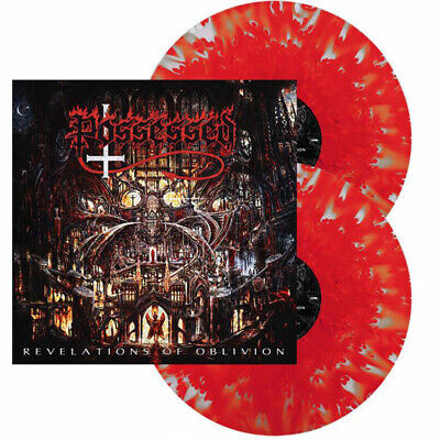 POSSESSED - REVELATIONS OF OBLIVION, ORG 2019 EU SPLATTER vinyl 2LP, 300 COPIES!
