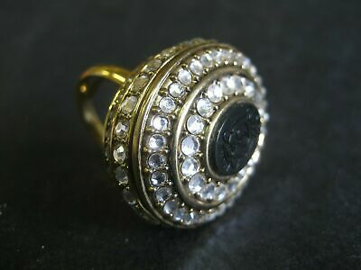 Juicy Couture Ring with Perfume Creme Cream