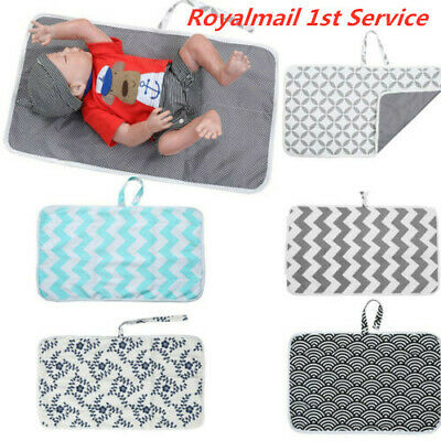 Foldable Newborn Baby Portable Travel Washable Nappy Diaper Play Changing Mat