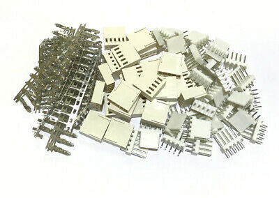 20SET 2510 2.54mm 5Pin Way Female Connector Crimp Contact Male Solder PCB Header