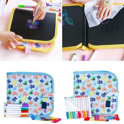 Portable Soft Doodle Erasable Drawing Animal Coloring Books DIY Painting Board