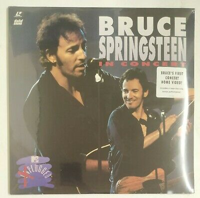 Bruce Springsteen In Concert MTV Plugged Laserdisc USA 1992