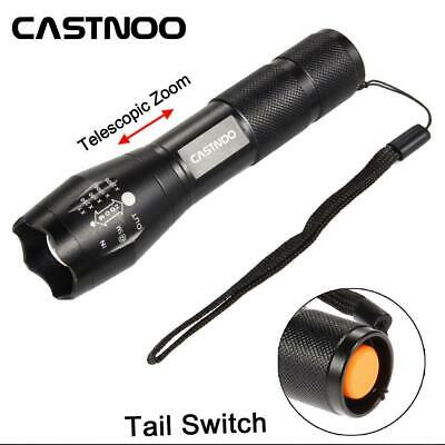 20000LM T6 LED Zoomable Focus 18650 //AAA Torch Lamp Light 5 Modes Torch Lampe DN