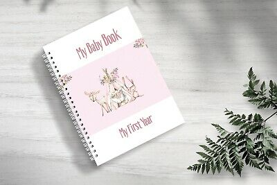 Baby Memory Book - Memory Journal - Milestone Book - Gifts for Baby Shower First