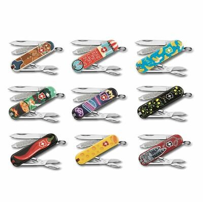 NEW VICTORINOX CLASSIC LIMITED EDITION 2019 SWISS ARMY KNIFE Foods of the World