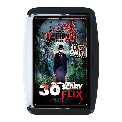 Unofficial Guide to 30 Scary Flix Top Trumps Card Game