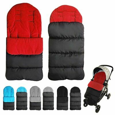Stroller Sleeping Bags Windproof Warm Thick Cotton Winter Baby Universal