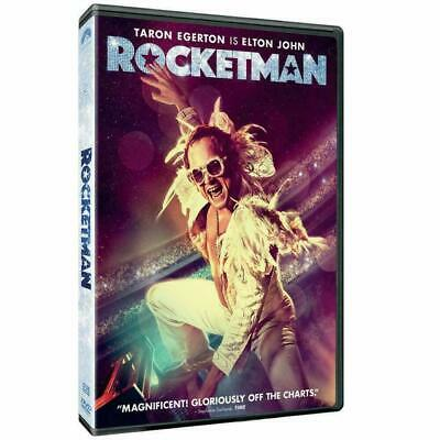 Rocketman (DVD, 2019) Taron Egerton Like New