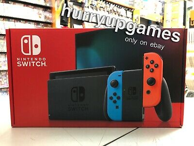 Console Nintendo Switch Color Neon Red & Blue Vers. 2019 NUOVA SIGIL