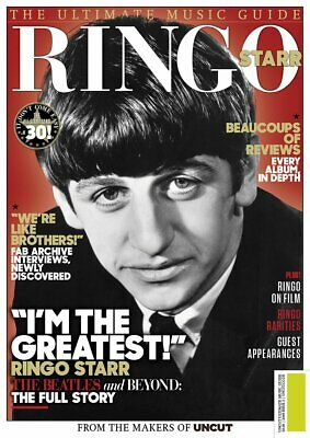 Ringo Starr - Uncut Ultimate Music Guide (New Magazine 2019) NOBARCODE
