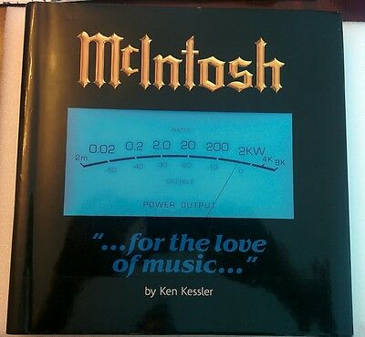 McIntosh ... For the Love of Music... by Ken Kessler