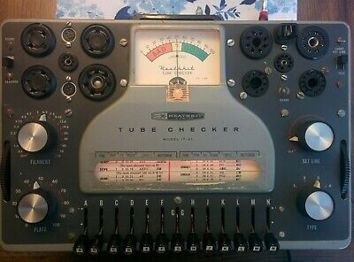 Heathkit Model IT-21 Tube Checker
