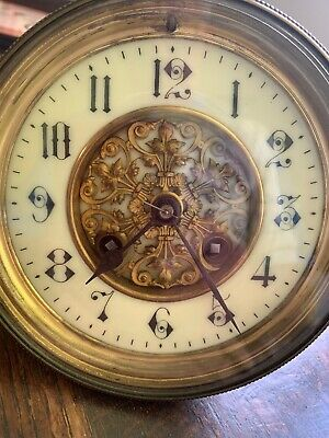 AD MOUGIN PARIS Quality French 8 Day Plus Clock Movement Fully Working.