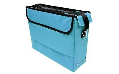 L2Tote-439 Totally Tiffany Ulimate Tote Laura Turquoise