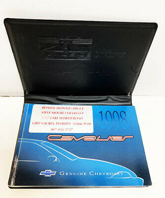 99 1999 Chevrolet Cavalier owners manual Vehicle Parts ...