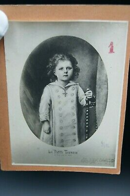 † 1876 Real Picture Therese Of Lisieux Child Relic Sancta Teresia Jesu Infante