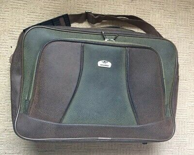Used Aerolite Hand Luggage  Bag 425x290x150 With Suitcase Pull Handle Back Strap